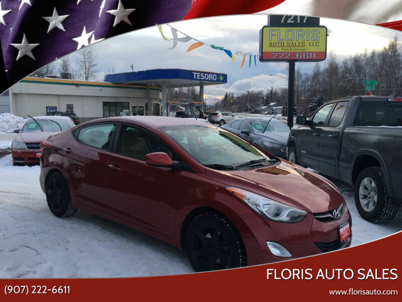 2013 Hyundai Elantra for sale at FLORIS AUTO SALES in Anchorage AK