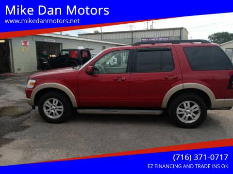 2010 Ford Explorer for sale at Mike Dan Motors in Niagara Falls NY