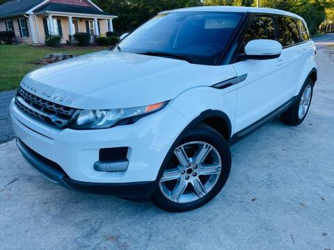 2013 Land Rover Range Rover Evoque for sale at Cobb Luxury Cars in Marietta GA