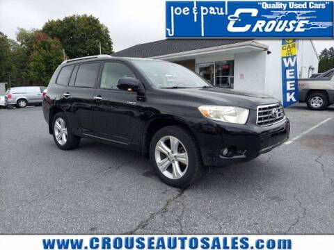 2008 Toyota Highlander for sale at Joe and Paul Crouse Inc. in Columbia PA