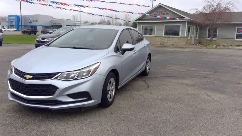 2018 Chevrolet Cruze for sale at Premier Auto Sales Inc. in Big Rapids MI