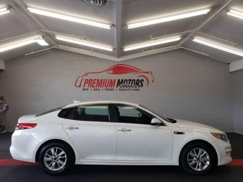2017 Kia Optima for sale at Premium Motors in Villa Park IL