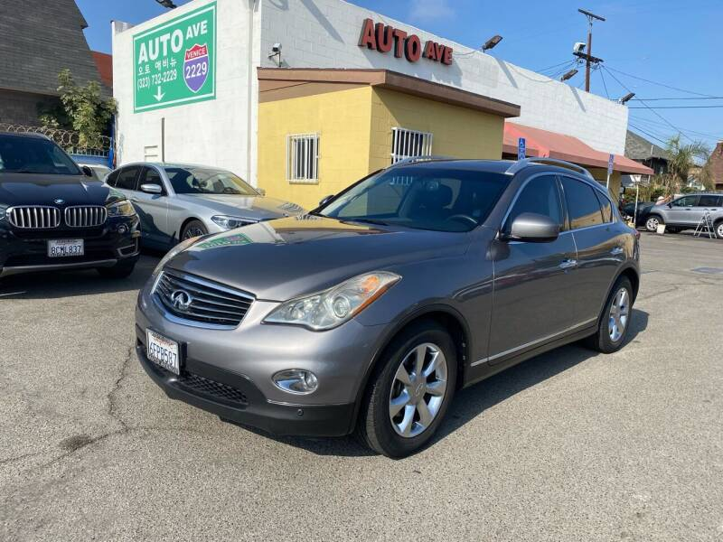 2008 Infiniti EX35 for sale at Auto Ave in Los Angeles CA