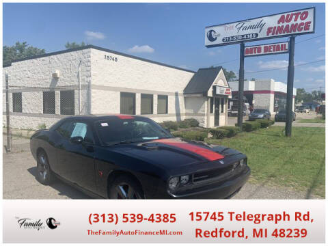 2013 Dodge Challenger for sale at The Family Auto Finance in Redford MI