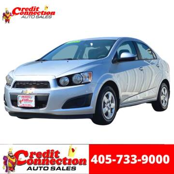 2016 Chevrolet Sonic for sale at Credit Connection Auto Sales in Midwest City OK
