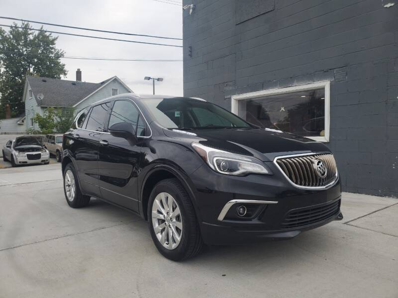 2017 Buick Envision for sale at Julian Auto Sales, Inc. - Number 1 Car Company in Detroit MI