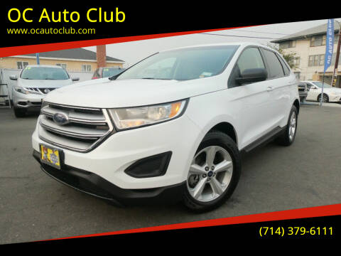 2017 Ford Edge for sale at OC Auto Club in Midway City CA