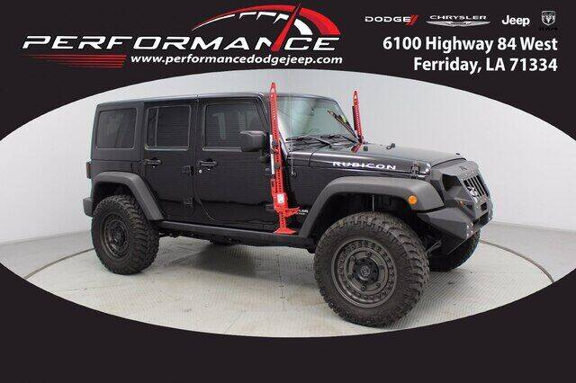 2017 Jeep Wrangler Unlimited for sale at Performance Dodge Chrysler Jeep in Ferriday LA