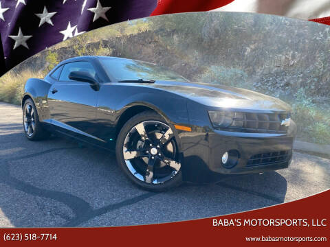 2012 Chevrolet Camaro for sale at Baba's Motorsports, LLC in Phoenix AZ