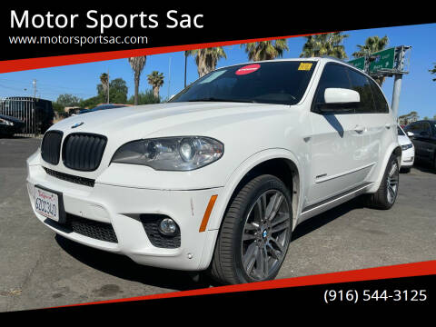 2013 BMW X5 for sale at Motor Sports Sac in Sacramento CA