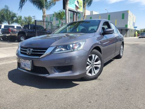 2014 Honda Accord for sale at GENERATION 1 MOTORSPORTS #1 in Los Angeles CA