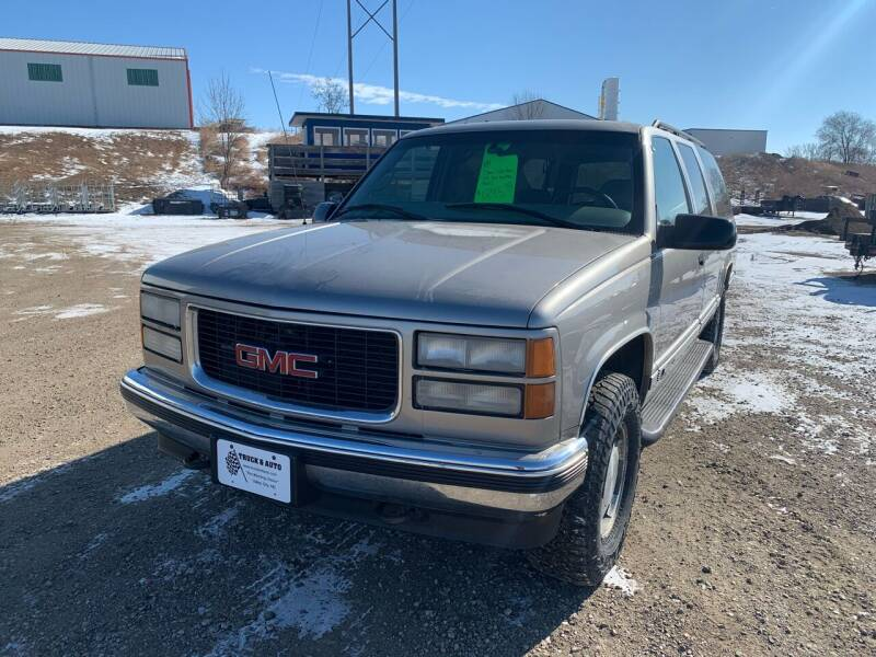 1999 GMC Suburban for sale at TRUCK & AUTO SALVAGE in Valley City ND