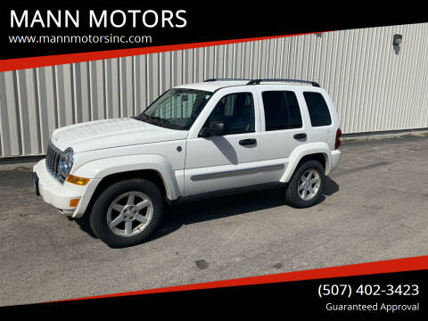 2006 Jeep Liberty for sale at MANN MOTORS in Albert Lea MN