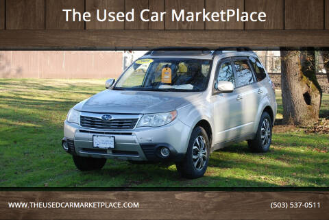 2009 Subaru Forester for sale at The Used Car MarketPlace in Newberg OR