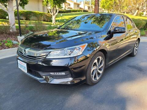 2017 Honda Accord for sale at E MOTORCARS in Fullerton CA