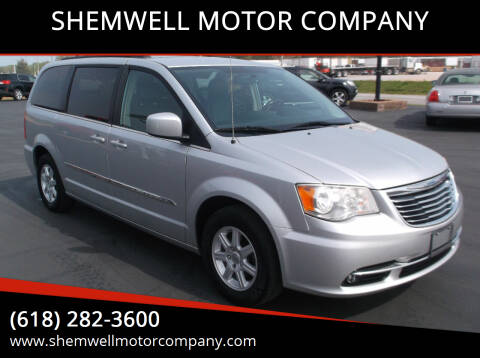 2012 Chrysler Town and Country for sale at SHEMWELL MOTOR COMPANY in Red Bud IL