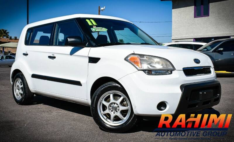 2011 Kia Soul for sale at Rahimi Automotive Group in Yuma AZ