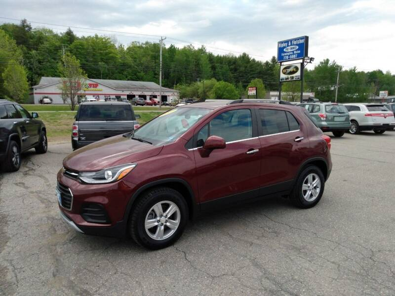 2017 Chevrolet Trax for sale at Ripley & Fletcher Pre-Owned Sales & Service in Farmington ME