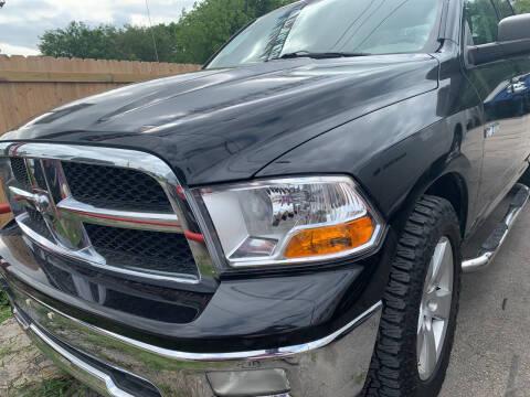 2009 Dodge Ram Pickup 1500 for sale at BULLSEYE MOTORS INC in New Braunfels TX