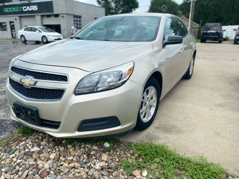 2013 Chevrolet Malibu for sale at Rocket Cars Auto Sales LLC in Des Moines IA