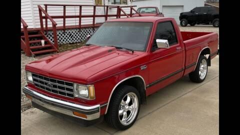 1989 Chevrolet S-10 for sale at Jim Elsberry Auto Sales in Paris IL