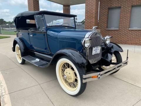 1929 Ford Model A for sale at Klemme Klassic Kars in Davenport IA