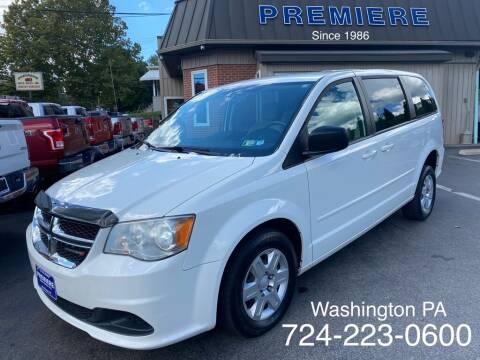 2012 Dodge Grand Caravan for sale at Premiere Auto Sales in Washington PA