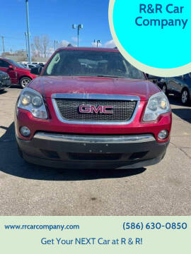 2011 GMC Acadia for sale at R&R Car Company in Mount Clemens MI