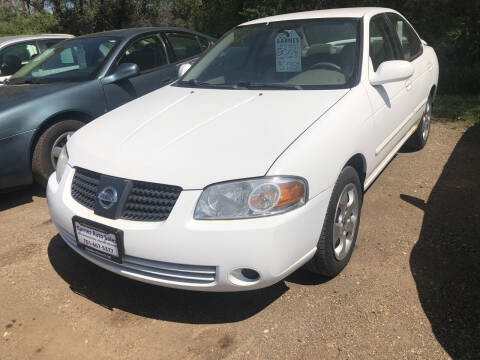 2006 Nissan Sentra for sale at BARNES AUTO SALES in Mandan ND