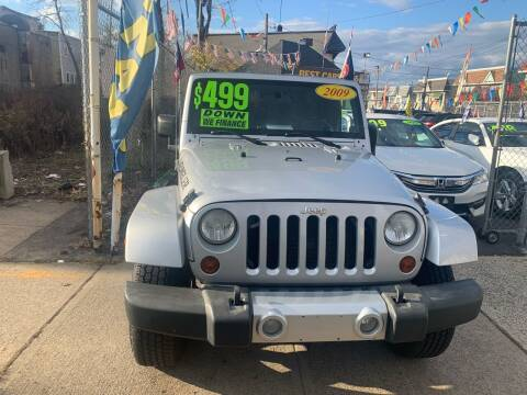 2009 Jeep Wrangler Unlimited for sale at Best Cars R Us LLC in Irvington NJ
