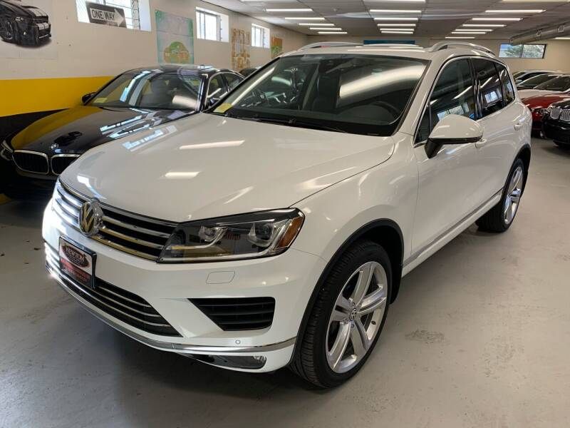 2017 Volkswagen Touareg for sale at Newton Automotive and Sales in Newton MA