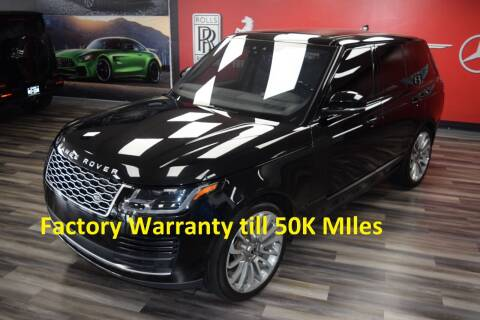 2018 Land Rover Range Rover for sale at Icon Exotics in Houston TX