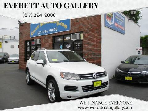 2014 Volkswagen Touareg for sale at Everett Auto Gallery in Everett MA