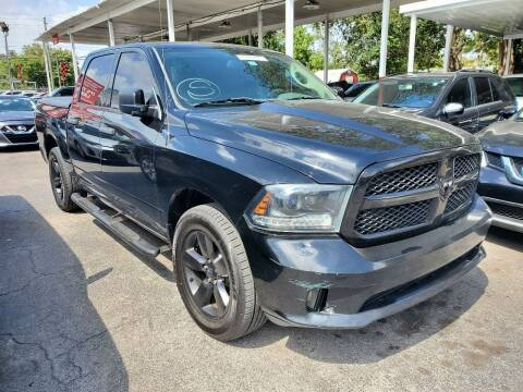 2015 RAM Ram Pickup 1500 for sale at America Auto Wholesale Inc in Miami FL