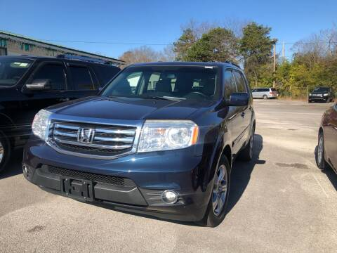 2012 Honda Pilot for sale at Morristown Auto Sales in Morristown TN