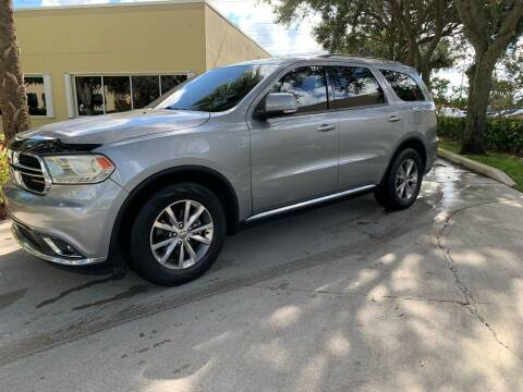 2015 Dodge Durango for sale at Ultimate Dream Cars in Royal Palm Beach FL