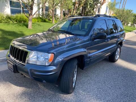 2004 Jeep Grand Cherokee for sale at Donada  Group Inc in Arleta CA