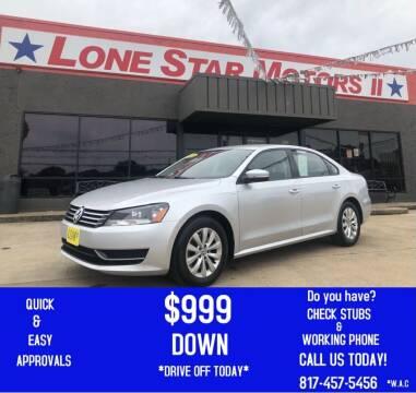 2016 Volkswagen Jetta for sale at LONE STAR MOTORS II in Fort Worth TX