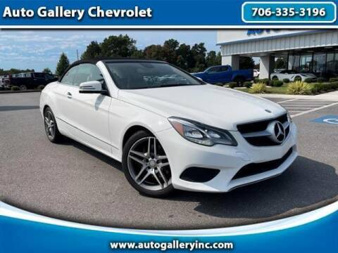 2014 Mercedes-Benz E-Class for sale at Auto Gallery Chevrolet in Commerce GA