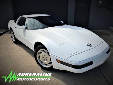 1995 Chevrolet Corvette for sale at Adrenaline Motorsports Inc. in Saginaw MI