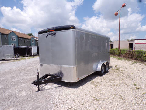 2021 Homesteader Challenger 7x16 Silver for sale at Jerry Moody Auto Mart - Trailers in Jeffersontown KY