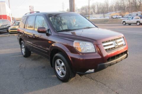 2007 Honda Pilot for sale at K & R Auto Sales,Inc in Quakertown PA