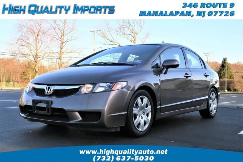 2010 Honda Civic for sale at High Quality Imports in Manalapan NJ