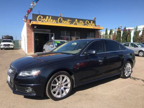 2012 Audi A4 for sale at Golden Coast Auto Sales in Guadalupe CA