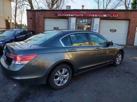 2012 Honda Accord for sale at HARTFORD MOTOR CAR in Hartford CT