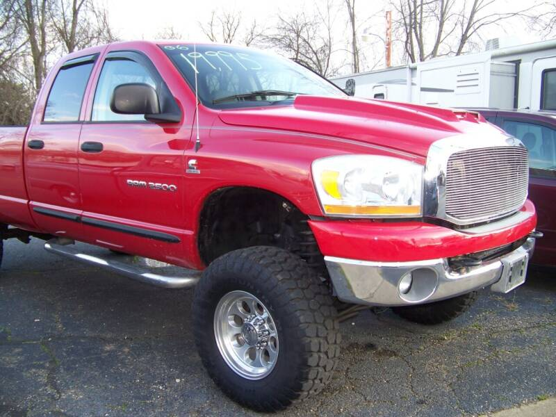 2006 Dodge Ram Pickup 2500 for sale at Collector Car Co in Zanesville OH