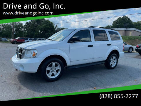 2009 Dodge Durango for sale at Drive and Go, Inc. in Hickory NC