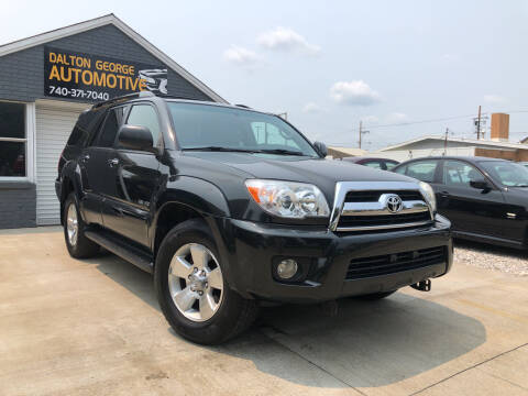 2007 Toyota 4Runner for sale at Dalton George Automotive in Marietta OH