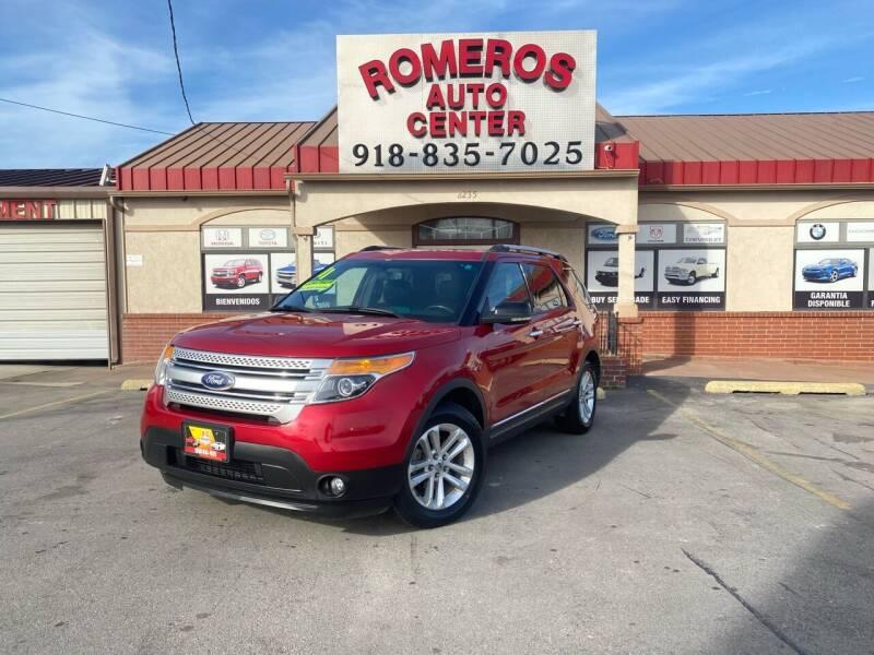2011 Ford Explorer for sale at Romeros Auto Center in Tulsa OK