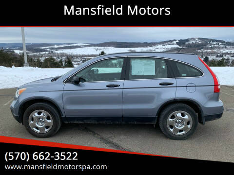 2008 Honda CR-V for sale at Mansfield Motors in Mansfield PA
